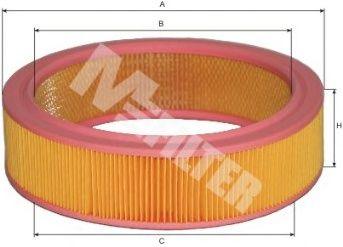 Воздушный фильтр MFILTER A 116