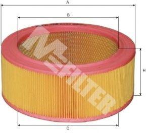 Воздушный фильтр MFILTER A 121