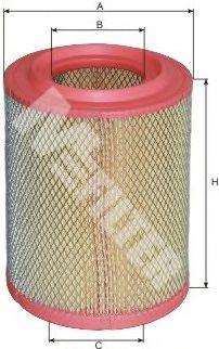 Воздушный фильтр MFILTER A 360/1