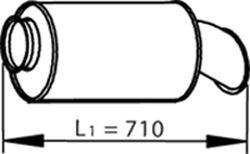 Глушитель DINEX 81718