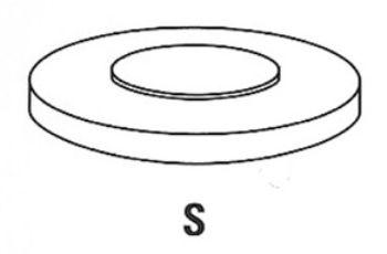 Шайба регулировки зазора в клапанах FRECCIA PRV 01-577