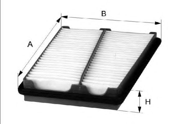 Воздушный фильтр FILTRON AP166/1