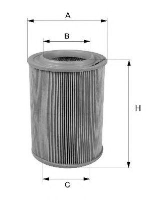Воздушный фильтр FILTRON AR366/5