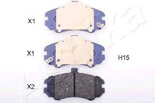 Тормозные колодки ASHIKA 50-0H-H15
