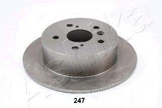 Тормозной диск ASHIKA 61-02-247