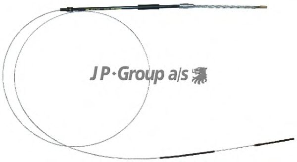 Трос ручника JP GROUP 8170301300