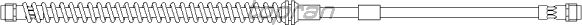 Тормозной шланг TOPRAN 111 057