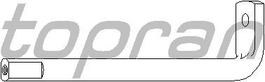 Натяжитель поликлинового ремня TOPRAN 109 740