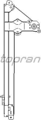 Стеклоподъемник TOPRAN 207 361