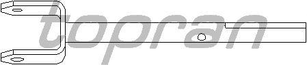 Шток вилки переключения передач TOPRAN 207 007