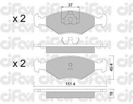 Тормозные колодки CIFAM 822-057-2