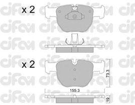 Тормозные колодки CIFAM 822-598-0