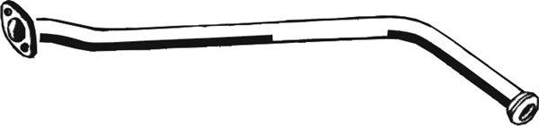 Труба выхлопного газа ASMET 10.043
