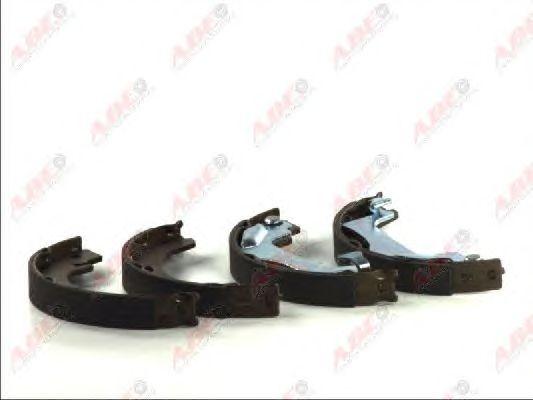 Тормозные колодки ручника ABE C02080ABE
