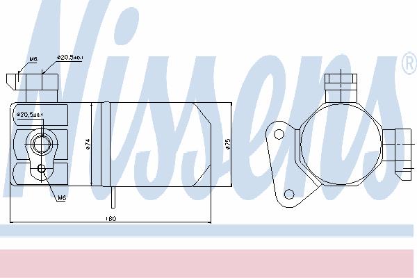 Осушитель кондиционера NISSENS 95432