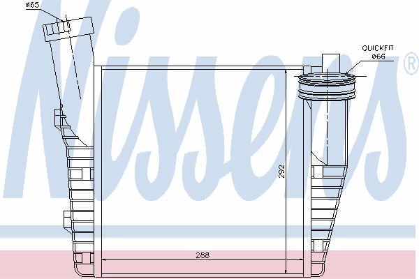 Интеркулер NISSENS 96688