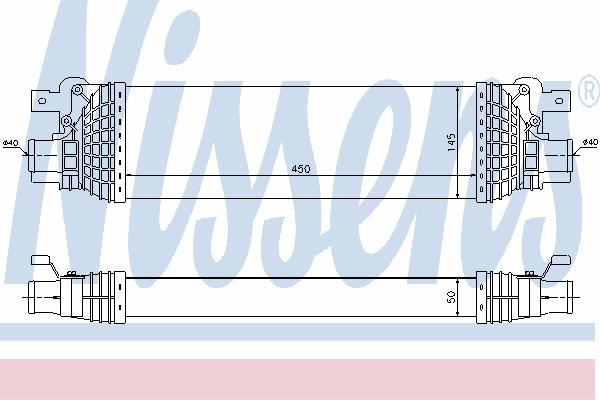 Интеркулер NISSENS 96643