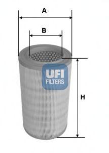 Воздушный фильтр UFI 27.630.00
