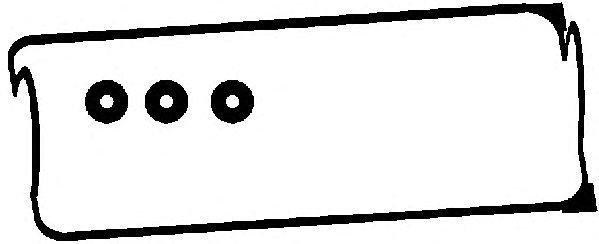 Комплект прокладок клапанной крышки AJUSA 56016100