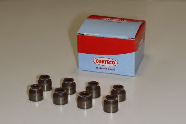 Комплект сальников клапанов CORTECO 19036076
