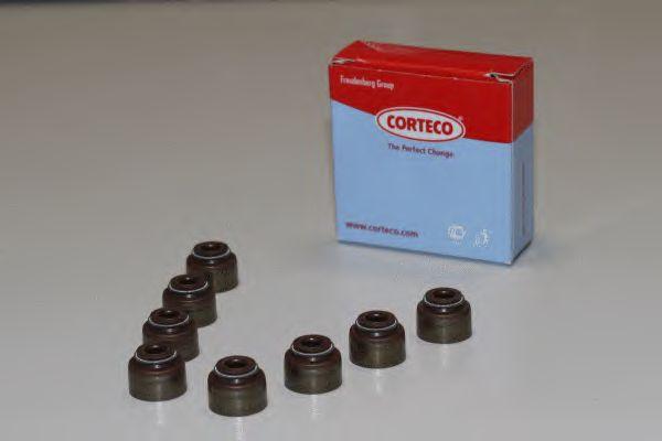 Комплект сальников клапанов CORTECO 19036060