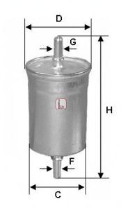 Топливный фильтр SOFIMA S 1718 B