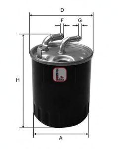 Топливный фильтр SOFIMA S 4077 NR