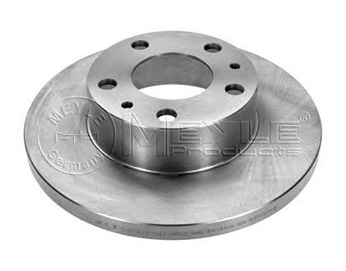 Тормозной диск MEYLE 215 521 0005
