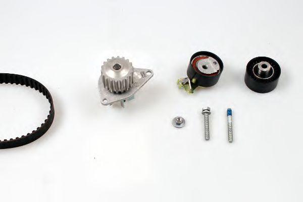 Помпа + комплект ГРМ HEPU PK08040
