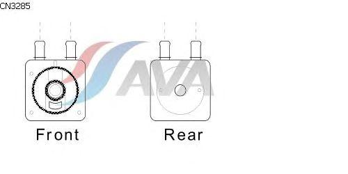 Масляный радиатор AVA QUALITY COOLING CN3285