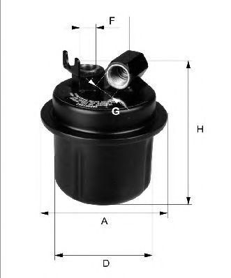 Топливный фильтр FILTRON PP874