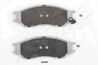 Тормозные колодки ASHIKA 50-01-150