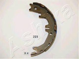 Тормозные колодки ручника ASHIKA 55-02-223