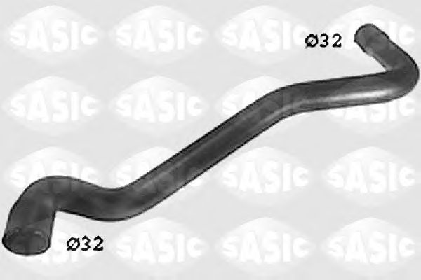 Шланг радиатора SASIC SWH6828