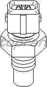 Датчик температуры охлаждающей  жидкости TOPRAN 207 834
