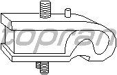 Подушки КПП TOPRAN 102 586