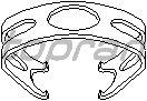 Кронштейн тормозного шланга TOPRAN 108 718