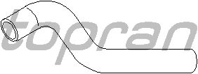 Шланг радиатора TOPRAN 206 702