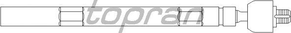 Рулевая тяга TOPRAN 720 404