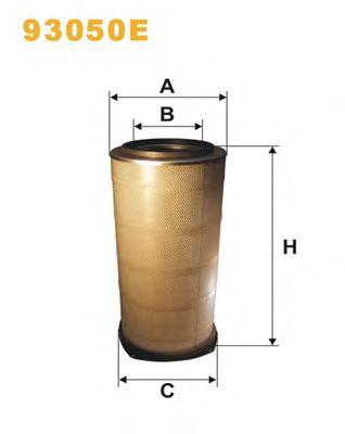 Воздушный фильтр WIX FILTERS 93050E