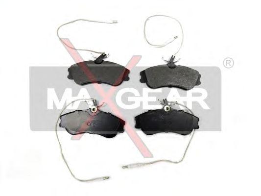 Тормозные колодки MAXGEAR 19-0549