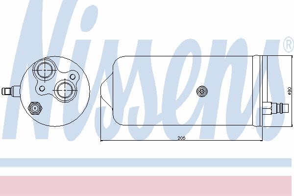 Осушитель кондиционера NISSENS 95329