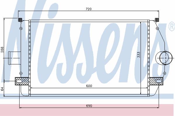 Интеркулер NISSENS 96866