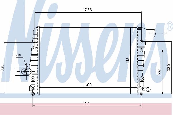 Интеркулер NISSENS 96706