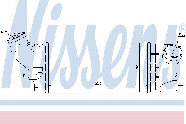 Интеркулер NISSENS 96599