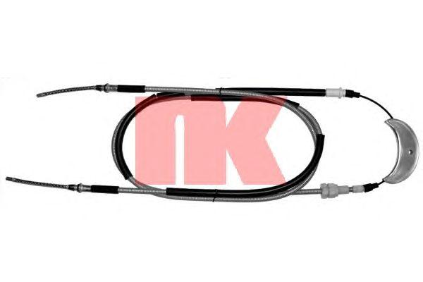 Трос ручника NK 902574