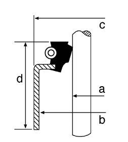 Сальник клапана, маслосъемный  колпачок CORTECO 19026752
