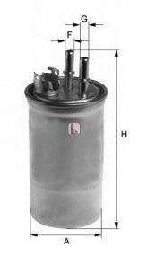 Топливный фильтр SOFIMA S 4433 NR