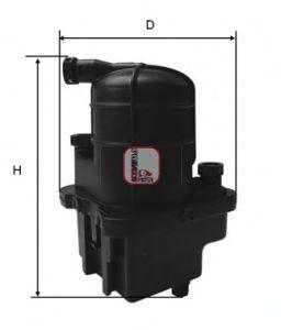 Топливный фильтр SOFIMA S 4087 NR