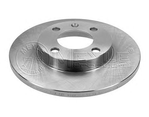 Тормозной диск MEYLE 115 521 1001